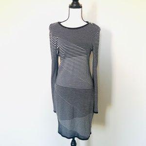 Michael Kors long sleeve sweater dress